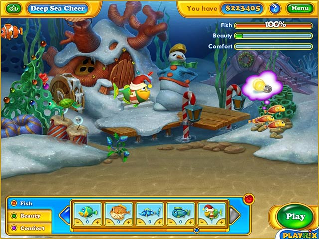 Game screenshot 2 Fishdom: Frosty Splash