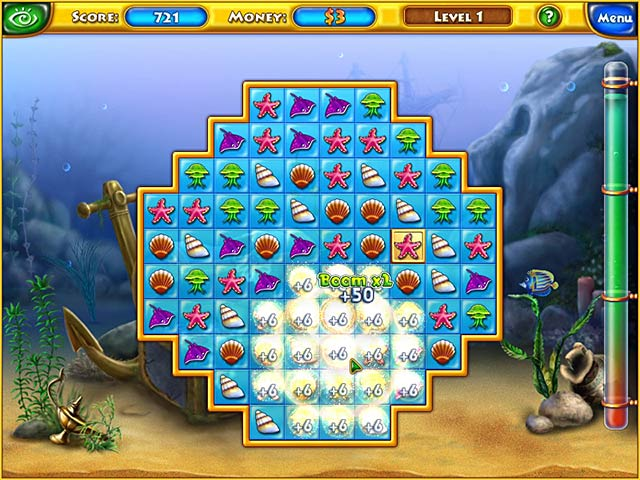 Play fishdom online games big fish for Game and fish