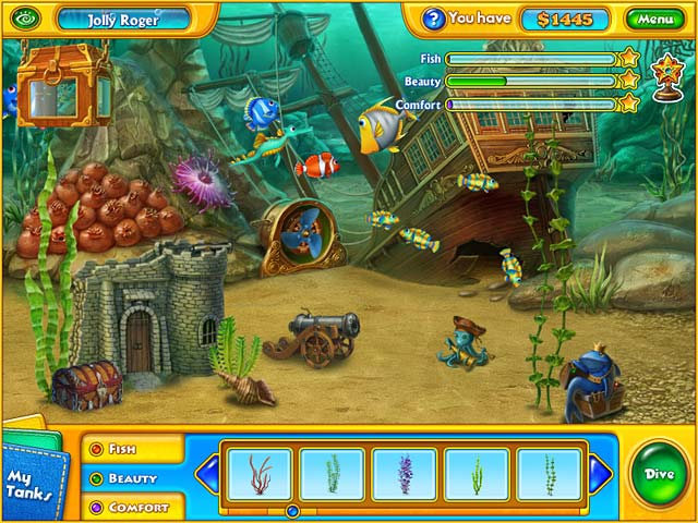 Play fishdom h2o hidden odyssey online games big fish for Big fish games free download full version