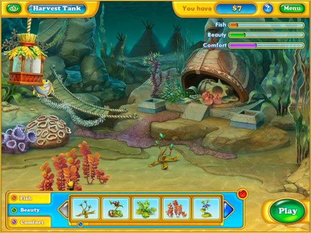 Fishdom harvest splash ipad iphone android mac pc for Big fish games mac