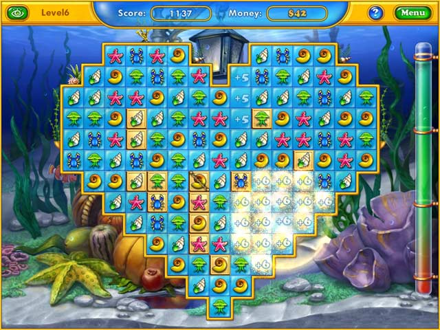 Fishdom: Seasons Under the Sea Screenshot-1