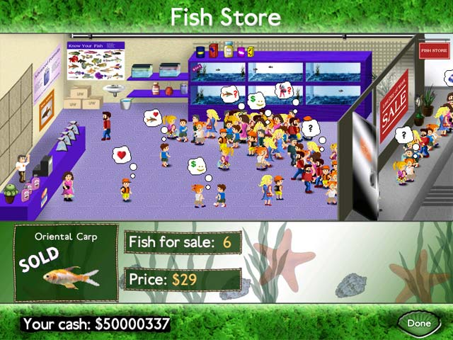 Fish Tycoon &#8211; Mac Screenshot-2