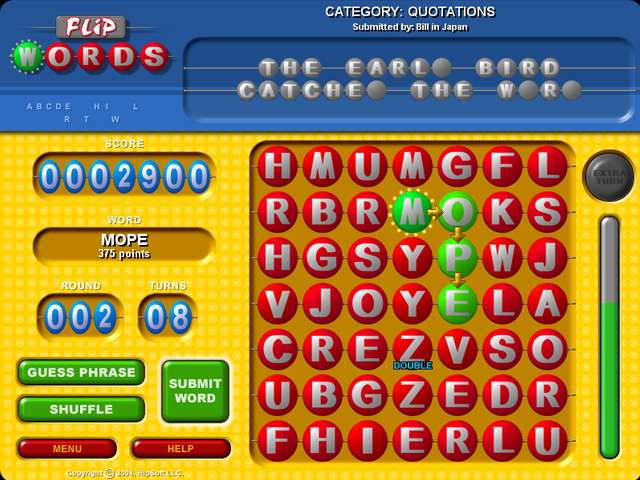 Game screenshot 1 Flip Words