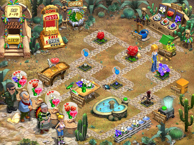 Game screenshot 1 Flower Shop - Big City Break