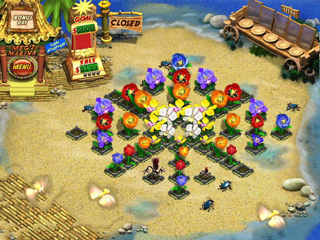 Game screenshot 2 Flower Shop - Big City Break