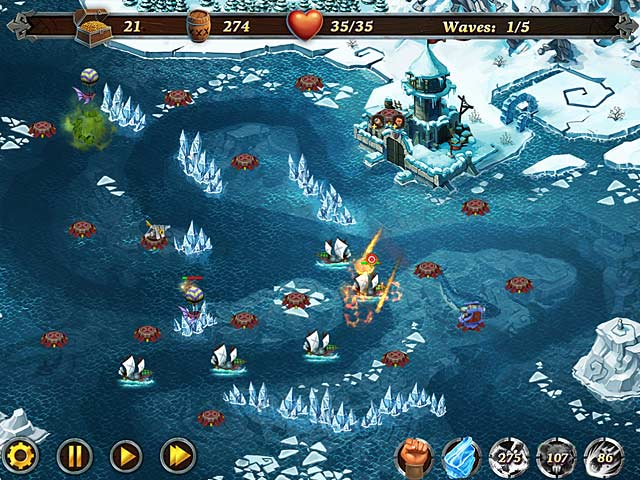 Fort defense ipad iphone android mac pc game big fish for Fish computer game