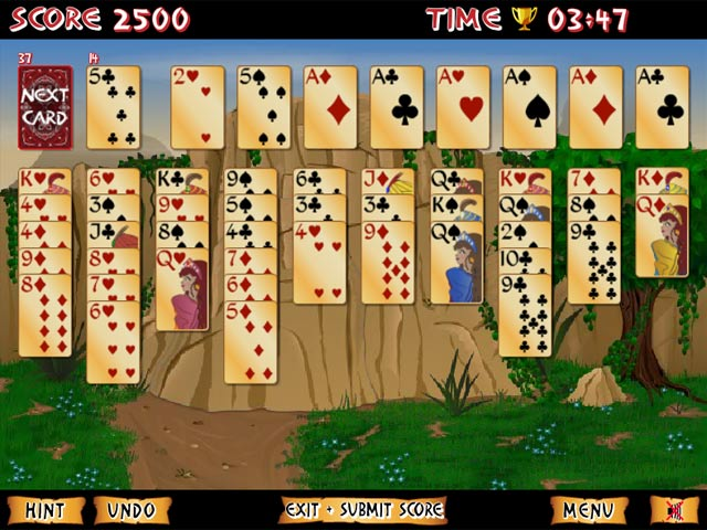 Solitaire 40 thieves