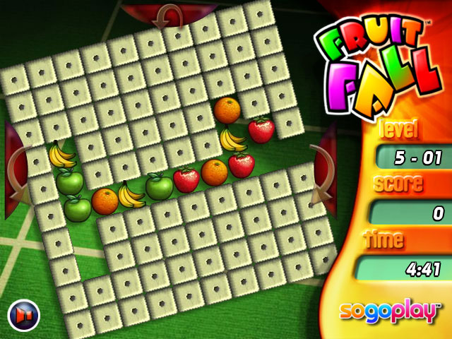 Game screenshot 1 Fruit Fall Deluxe Edition