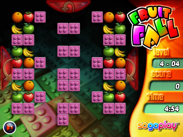 Game screenshot 2 Fruit Fall Deluxe Edition