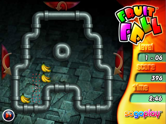 Game screenshot 3 Fruit Fall Deluxe Edition