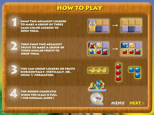 Spiele Screenshot 3 Fruit Lockers