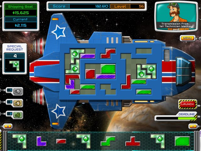 Galactic express time management for Big fish games manager