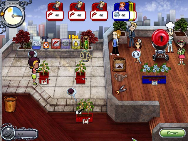 Game screenshot 1 Garden Dash