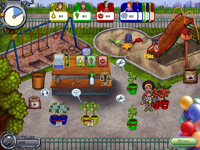 Game screenshot 2 Garden Dash