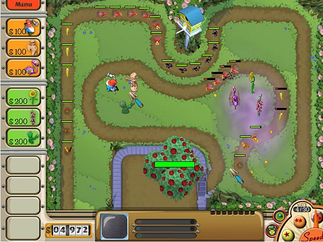 Game screenshot 1 Garden Defense