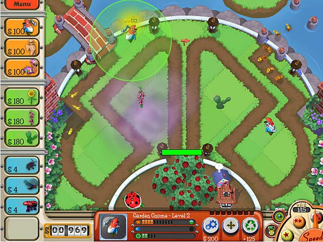 Game screenshot 2 Garden Defense