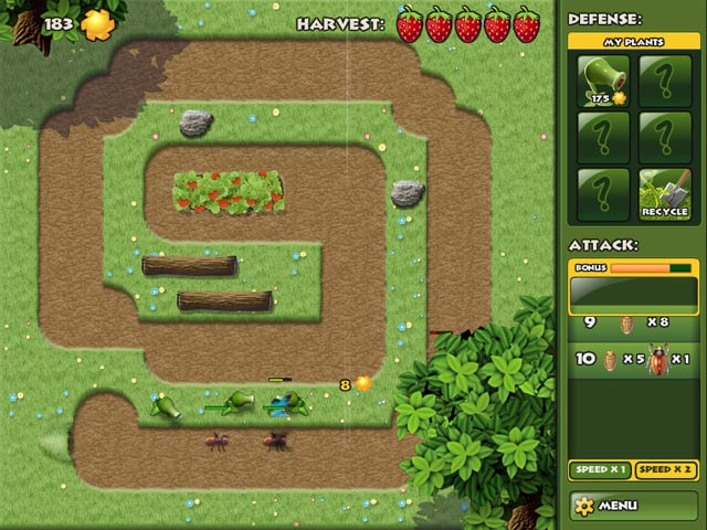 Game screenshot 1 Garden Panic