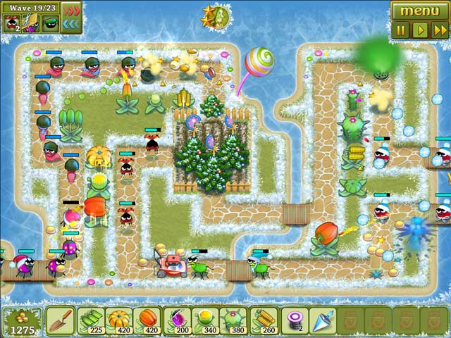 Garden Rescue Christmas Edition iPad iPhone Android Mac PC