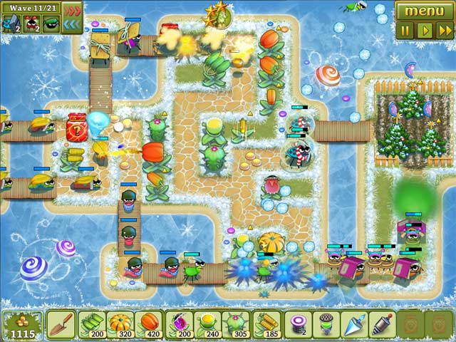 Garden rescue christmas edition ipad iphone android for Kansas fish and game