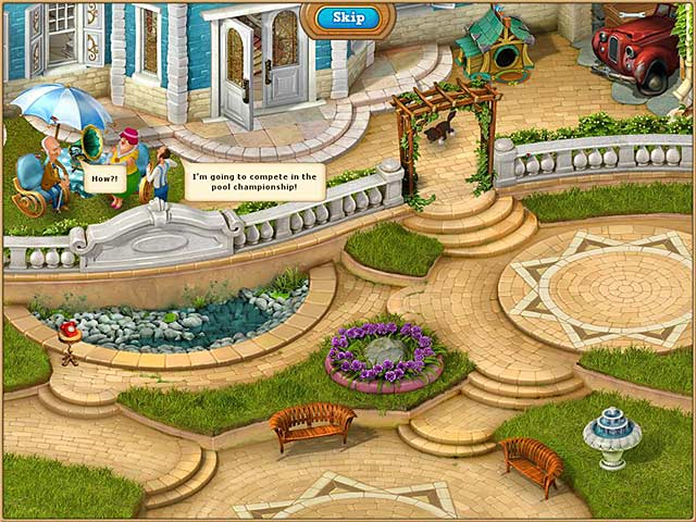 Game screenshot 2 Gardenscapes 2