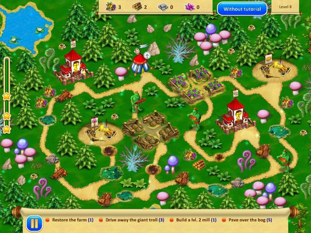 Gnomes Garden 3 iPad iPhone Android Mac PC Game Big Fish