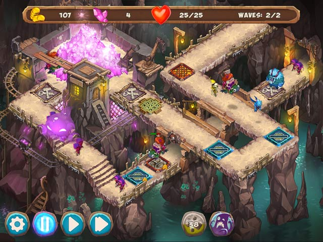 Game screenshot 2 Gnumz: Masters of Defense