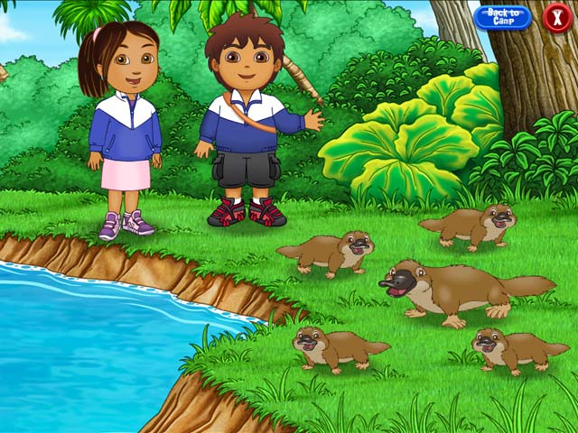 Game screenshot 2 Go Diego Go Ultimate Rescue League