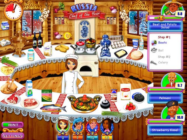 Game screenshot 2 Go Go Gourmet: Chef of the Year