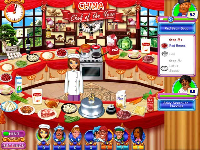 Go go gourmet chef of the year ipad iphone android for Big fish cooking games