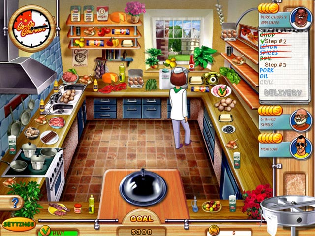Go go gourmet ipad iphone android mac pc game big for Big fish cooking games