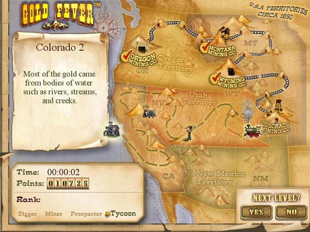 Spiele Screenshot 2 Gold Fever
