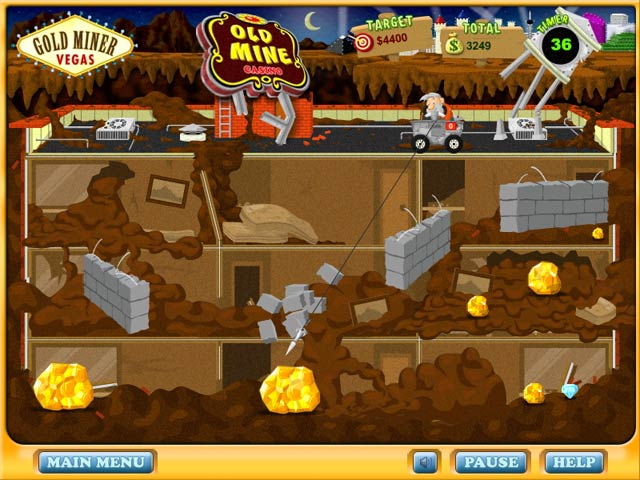 Game screenshot 2 Gold Miner Vegas