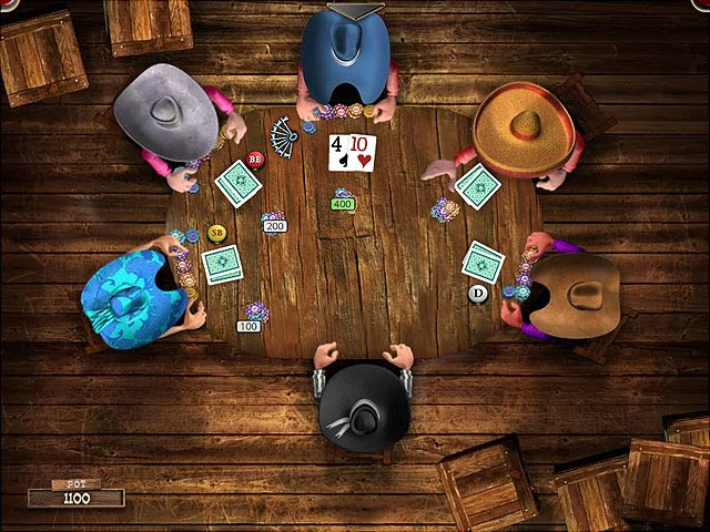 free poker playing game