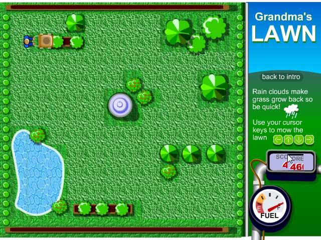 Screenshots Grandma's Lawn -