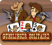Feature screenshot game Gunslinger Solitaire