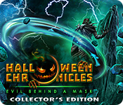 Feature screenshot game Halloween Chronicles: Evil Behind a Mask Collector's Edition