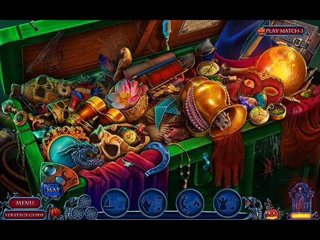 Game screenshot 2 Halloween Chronicles: Evil Behind a Mask Collector's Edition