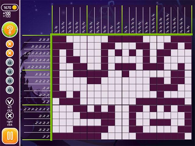 Game screenshot 1 Halloween Riddles: Mysterious Griddlers