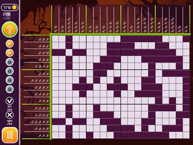 Game screenshot 2 Halloween Riddles: Mysterious Griddlers