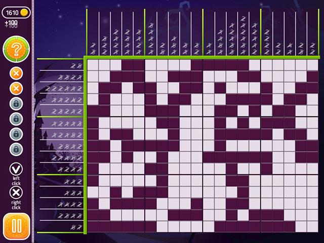 Game screenshot 3 Halloween Riddles: Mysterious Griddlers
