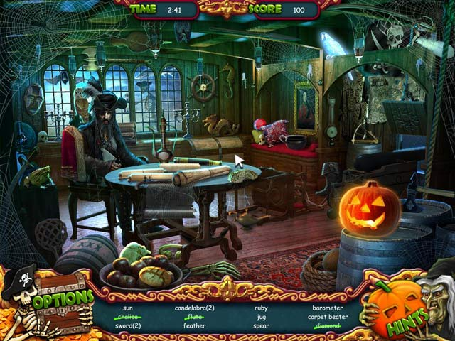 Game screenshot 2 Halloween: The Pirate's Curse