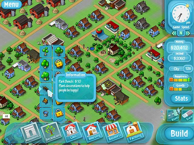 Game screenshot 1 HappyVille: Quest for Utopia