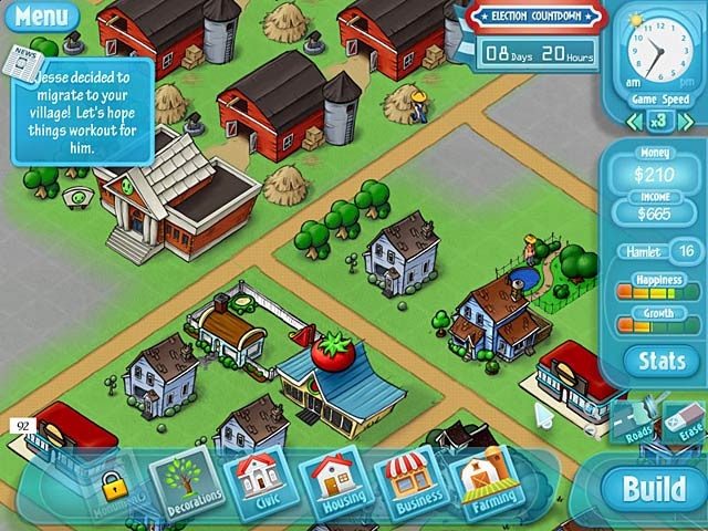 Game screenshot 3 HappyVille: Quest for Utopia