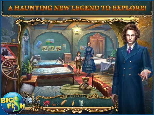 Screenshot for Haunted Legends: The Stone Guest Collector's Edition