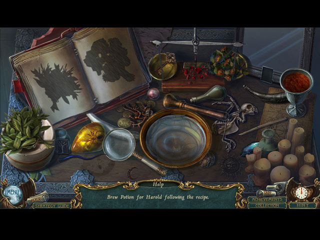 Haunted Legends: The Cursed Gift - Screenshot 1