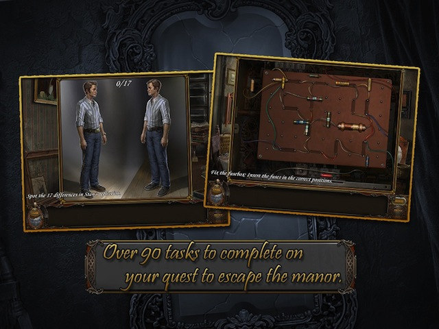 Screenshot for Haunted Manor: Lord of Mirrors