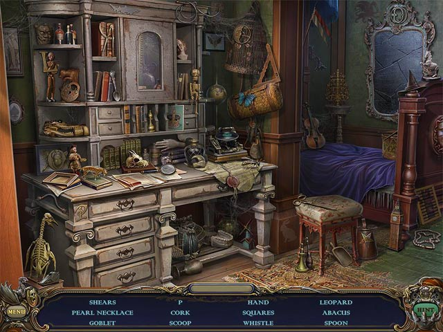 Game screenshot 1 Haunted Manor: Queen of Death Collector's Edition