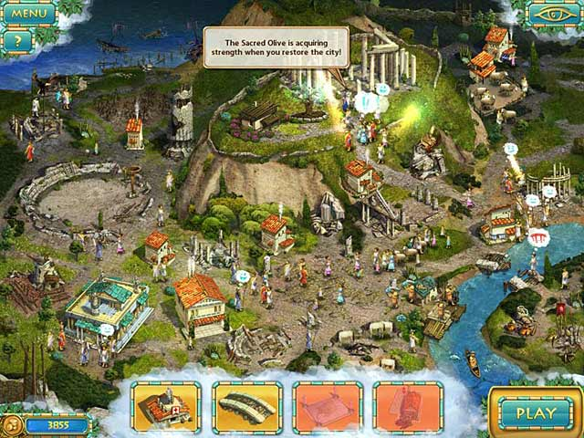 Game screenshot 1 Heroes of Hellas 3: Athens