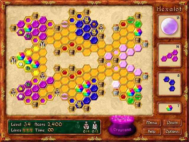 Game screenshot 2 Hexalot