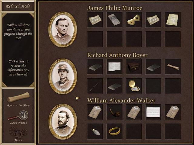 Game screenshot 2 Hidden Mysteries - Civil War